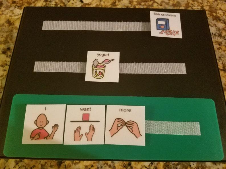 SPEECH THERAPY ADHD ASD PECS BOOK 4 AUTISM ABA LANGUAGE /& APRAXIA ASPERGER/'S