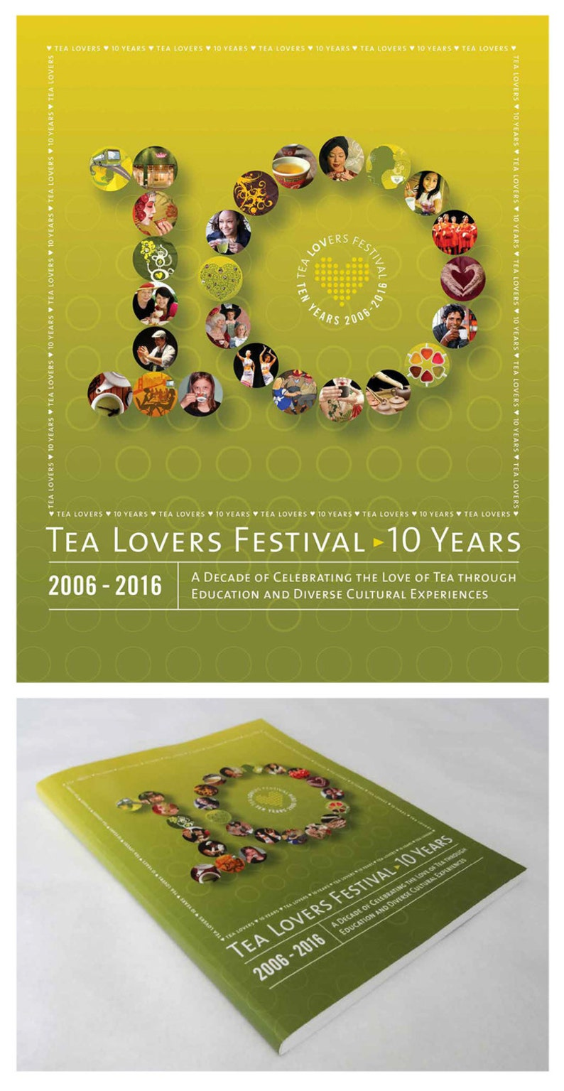 Tea Lovers Festival: 10 Years  Soft Cover Version image 0