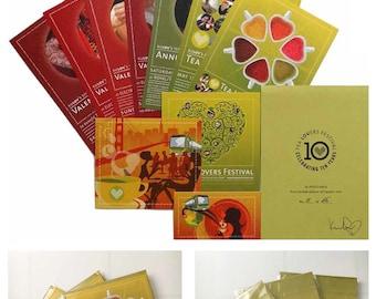 Tea Lovers Festival: 10 Postcards Set > Limited-Edition of 25