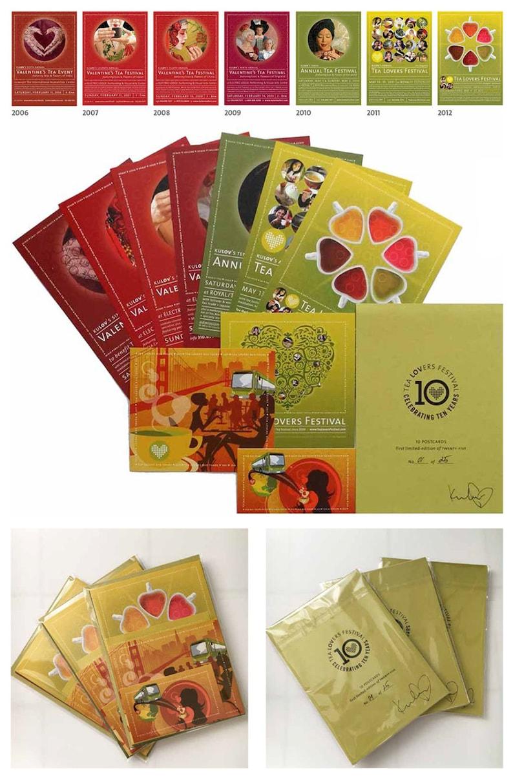 Tea Lovers Festival: 10 Postcards Set  Limited-Edition of image 0