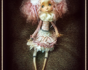 "Available  OOAK -Art doll -""Josephine"""