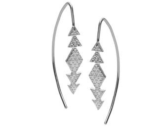As Above So Below Sacred Geometry Earring Hooks