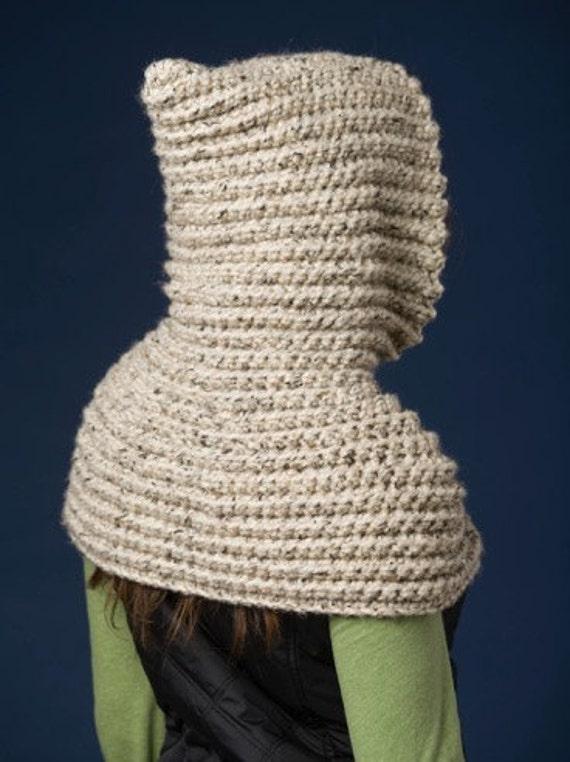 CROCHET patrones capucha capa bufanda capucha capa del montar | Etsy
