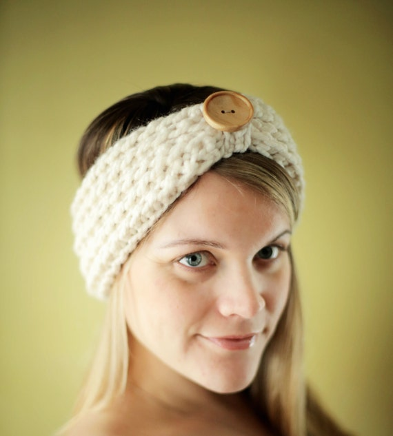 Easy Crochet Pattern Chunky Headband Beginner The Baltimore 3 Etsy