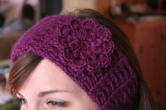 Stirnband häkeln Muster Frauen Hut PDF schöne Blume im | Etsy
