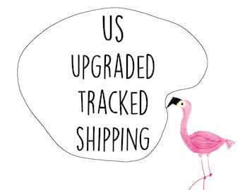 US & Canada upgraded tracked shipping