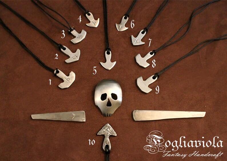 MJOLNIR RUNE VIKING bifrost hammer thor necklace god pendant image 0