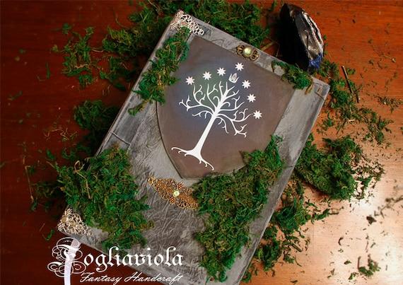 Weisse Baum Journal Gondor Hochzeit Gastebuch Moos King Buch Etsy