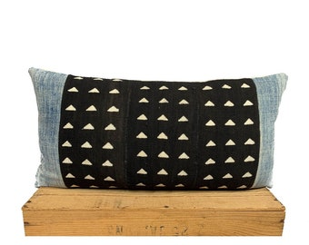 Vintage African Mud Cloth Pillows