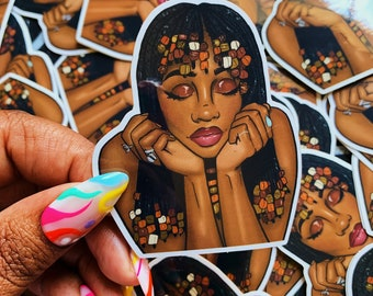 Good Days x SZA Vinyl Sticker // 2.5 in x 3in Waterproof // Perfect for laptops, water bottles, cars and more!