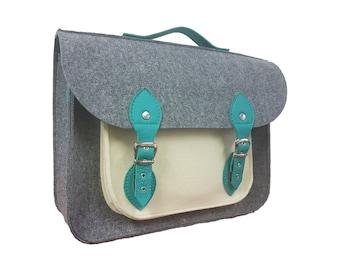 79bd58829 Laptop bag, Leather Messenger bag men, felt bag, leather laptop bag, fabric  crossbody bag, messenger bag women, gift