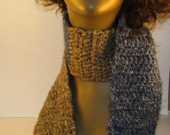 Fashionably Warm Soft Scrap Scarf
