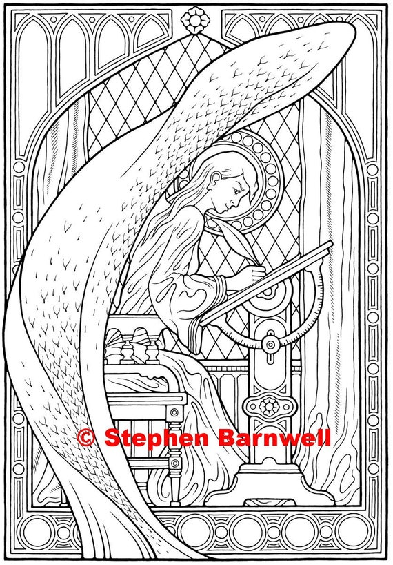 - Angel Coloring Pages Angelic Art Angel Coloring Etsy