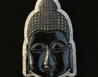 Big Black Diamond Buddha