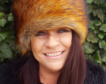 Faux Fox Hat Made In England!