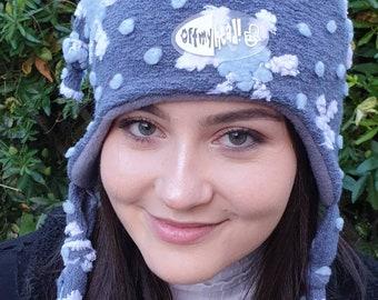 Snowflake 'Trish' Boucle Hat with Polar Fleece Lining