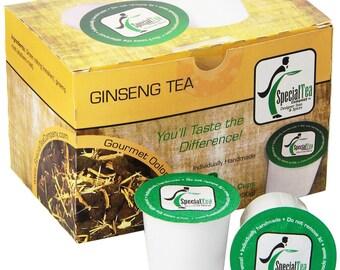 Ginseng Oolong, Single Serve Tea Pod (Pack of 10)