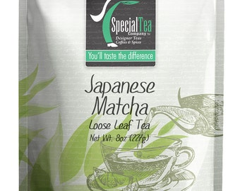 8 oz. Matcha Japanese Green Tea Powder