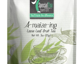 3 oz. A-Maize-Ing, Fruit Tea with Free Tea Infuser