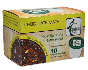 Chocolate Mate Single Serve Cups, 10 Count for Keurig Brewer
