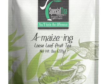 8 oz. A-Maize-Ing, Fruit Tea with Free Tea Infuser