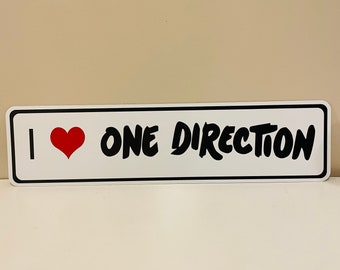 I love One Direction Street Sign