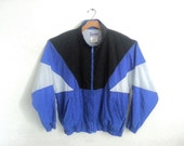 80s Windbreakers, Jackets, Coats Vintage 80s 90s Windbreaker Jacket  Kobe XLarge $40.00 AT vintagedancer.com