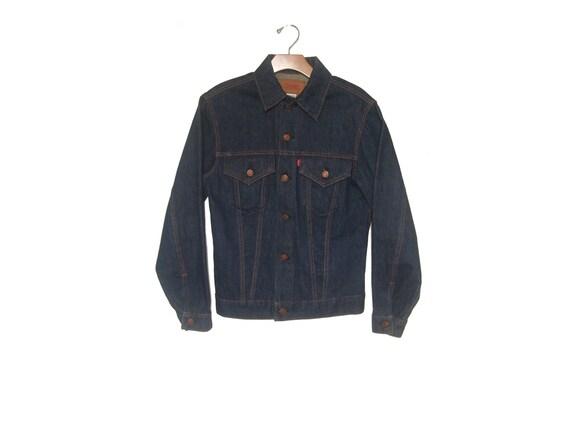 Vintage Levi's 60s Big E Denim Jacket Trucker Men'