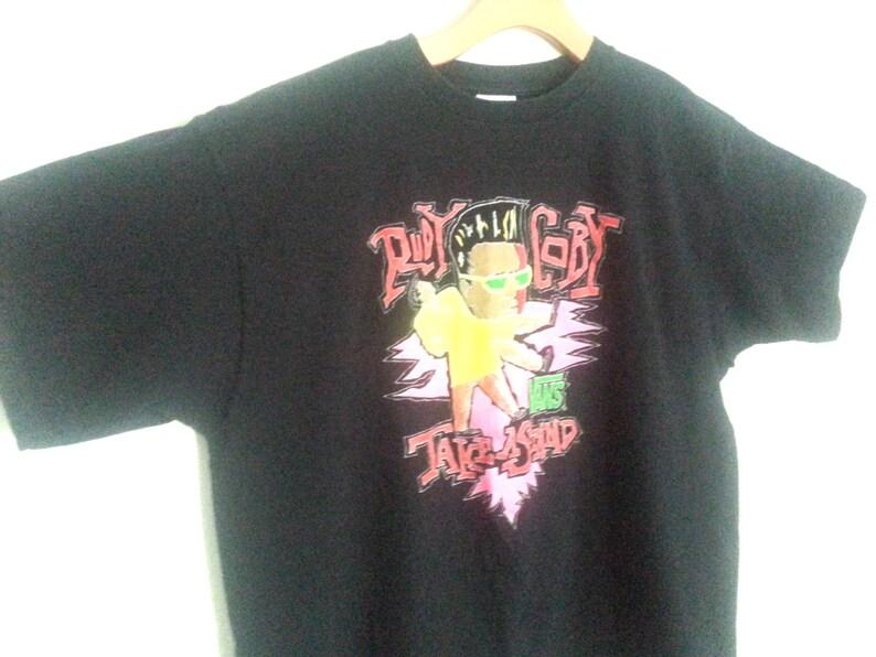 3651a3aa64e288 Rad Vintage Vans Rudy Coby Tshirt XL