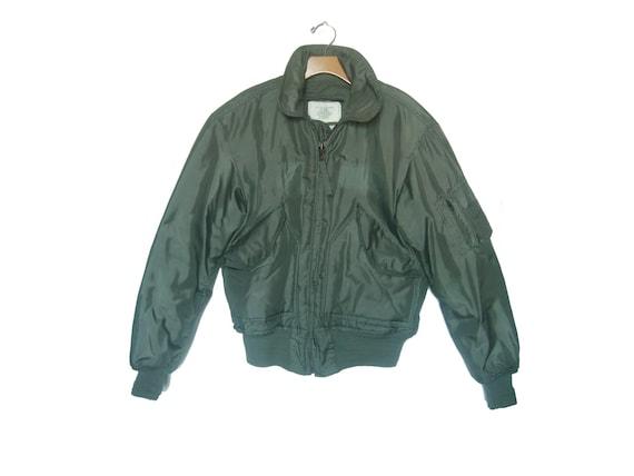 Vintage Military Flight Jacket CWU 45P Surplus Men s  b61626914a