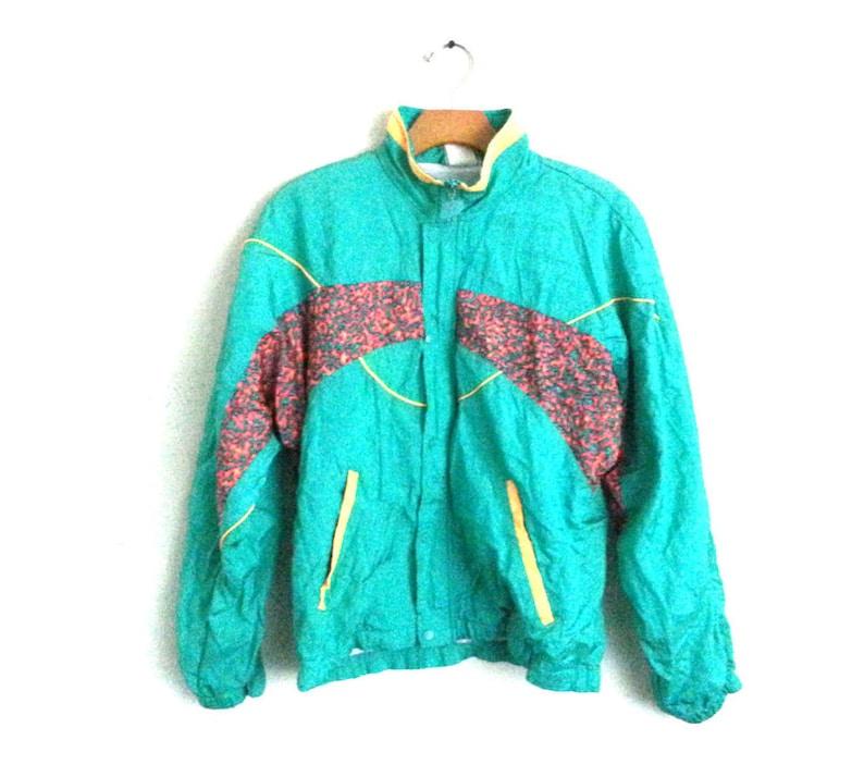 12bcd145bac4d Vintage 90s Track Suit New Balance NB Windbreaker Jacket Pants | Etsy