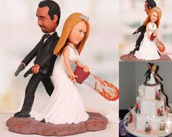 Zombie Wedding Cake Etsy