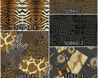 Windham Fabrics Go Wild by Whistler Studios 33784A X Tiger Cotton Fabric
