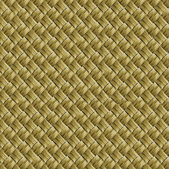 "Last Piece New Autumn Harvest Baskets 100/% cotton fabric 33/"" x 43/"""