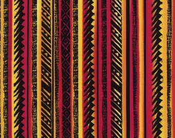 African Sunset Kenta Cotton Fabric by Timeless Treasures! 4 Options [Choose Your Cut Size]