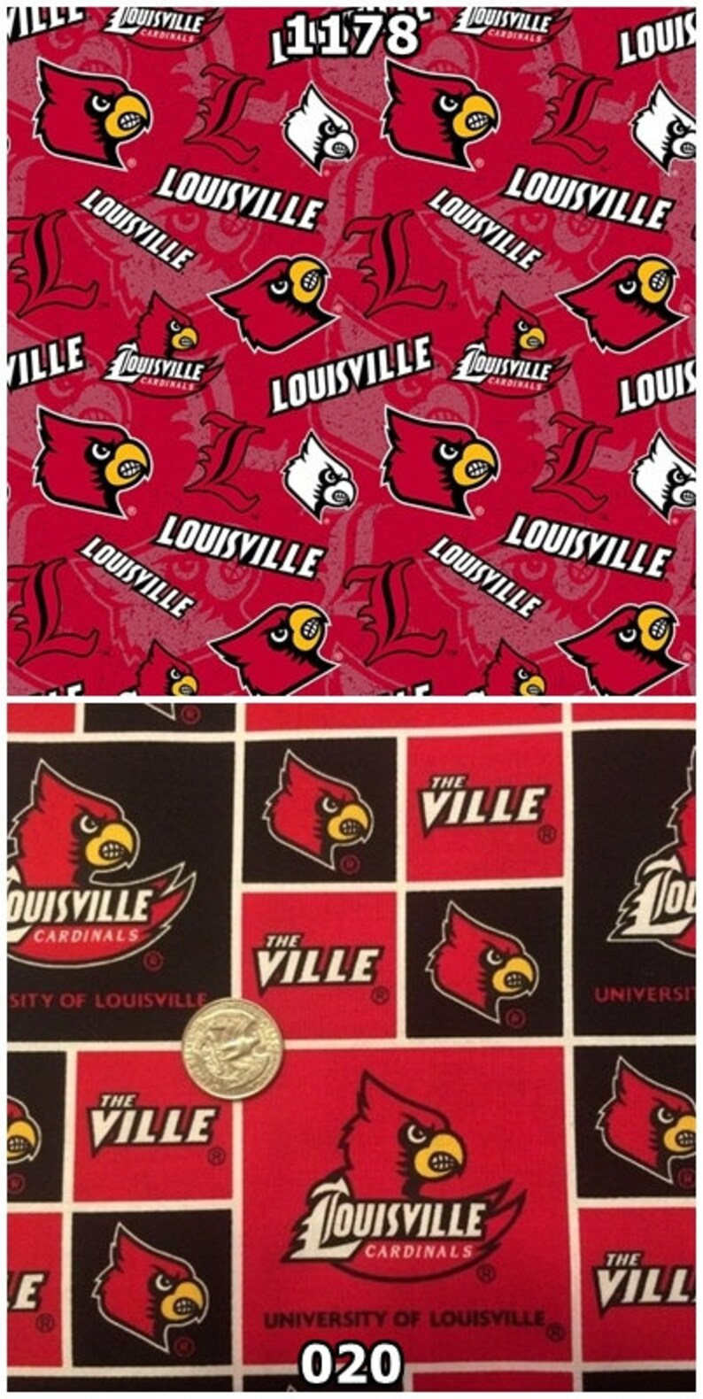 NCAA University of Louisville Cardinals Red & Black College image 0