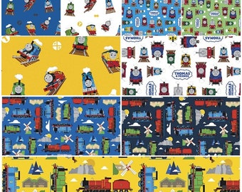 Thomas the Train and Friends 100% Cotton Fabrics by Riley Blake! [Choose Your Cut]