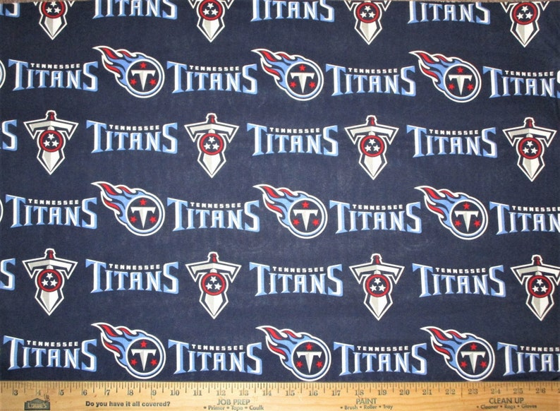 NFL Logo Tennessee Titans 70171 100% Cotton Fabric by Fabric image 0