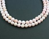 Peruvian Pink Opal 9-10mm round beads (ETB00058)