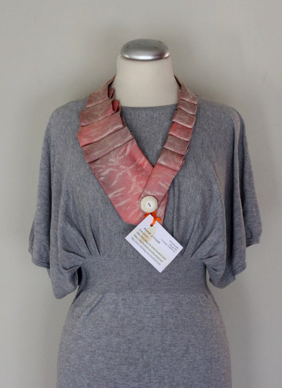 Pink/Nude Vintage Necklace/Belt,  Belt/Neck Pieces, Vintage Tie Belts, Classy/Chic Standout Piece
