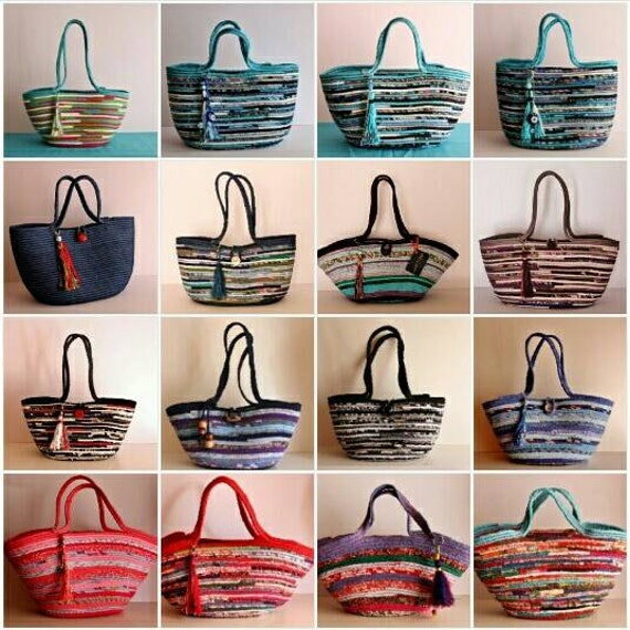 CUSTOM ORDERS for Basket Bags, Make your own, Custom-Made bag Just For YOU