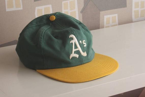 A's Baseball Cap, Oakland A's, 1990's classic A's cap