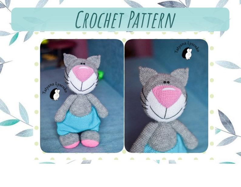 Hello Casper Amigurumi Free Crochet Cat Pattern ⋆ Crochet Kingdom | 618x794