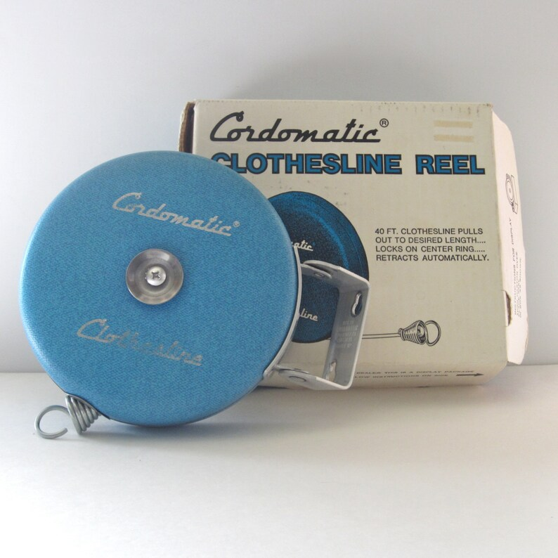 Sporting Goods Vtg Cordomatic Clothesline Replacement Parts Decor Retractable Reel Camping
