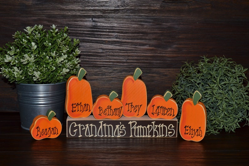Fall Decor Personalized Thanksgiving Decor Personalized image 0