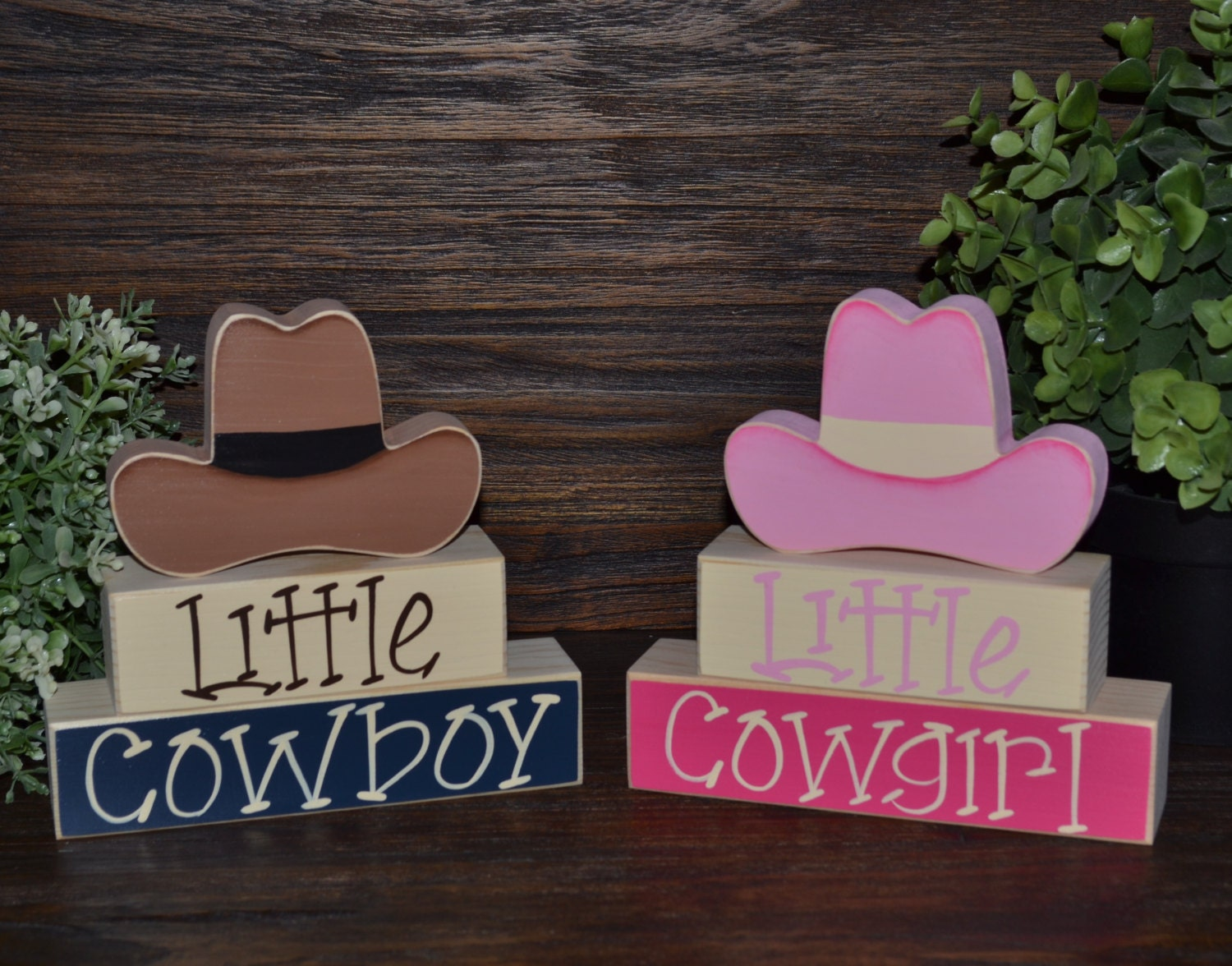 Little Cowboy Western Home Decor Cowgirl Birthday ...