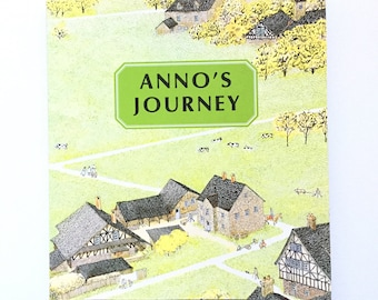 Anno's Journey by Mitsumasa Anno / Vintage Children's Paperback / Wordless Story Book / 1978
