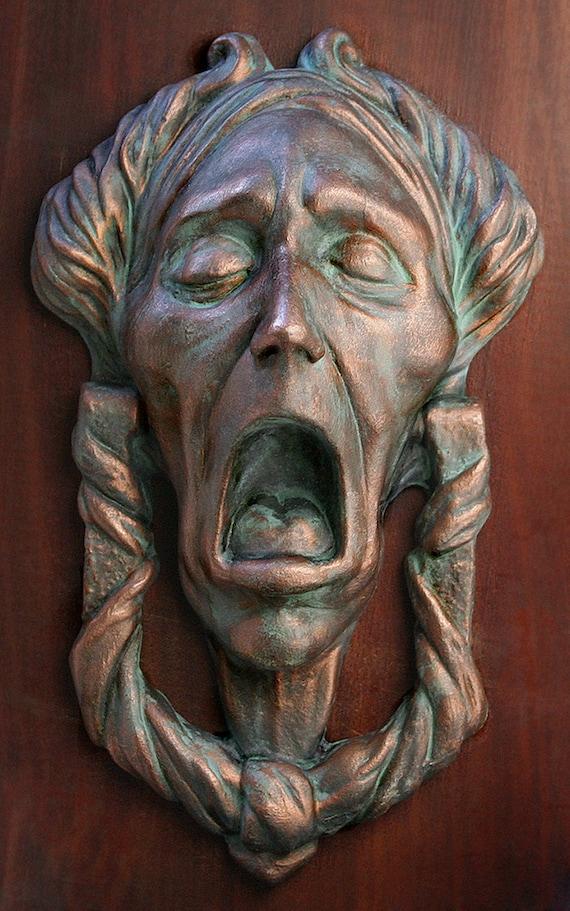 Christmas Carol Jacob Marley Faux Door-Knocker Charles   Etsy