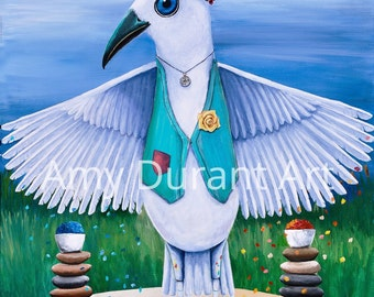 Art (Tarot of the Birds) giclee print