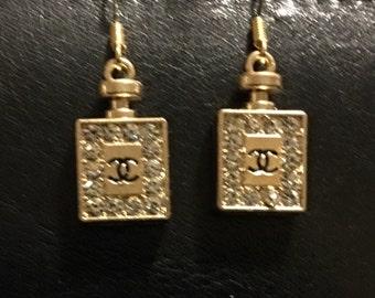 Perfume Bottle Earrings